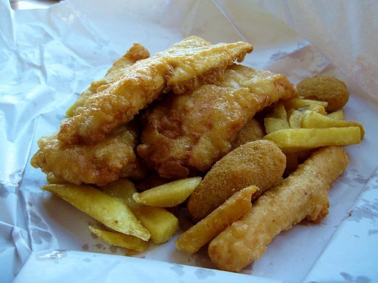 new zealand fish and chips