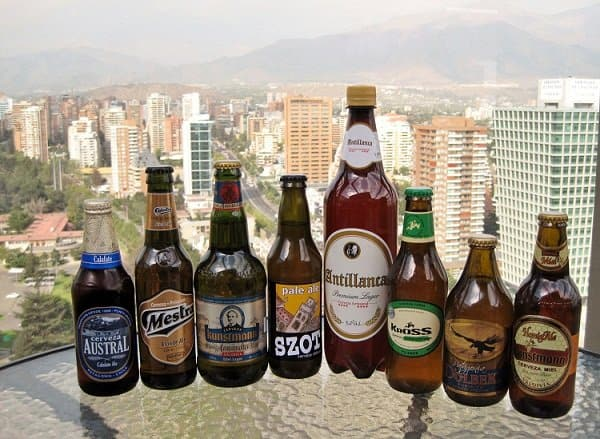 Chilean Craft Beers