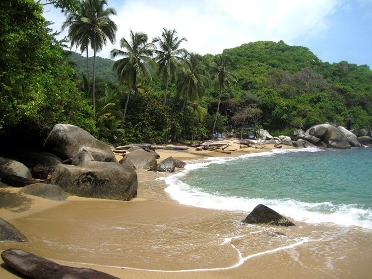 Tayrona Colombia beach