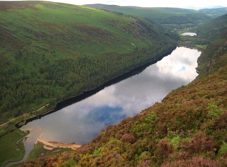 uper lake glendalough