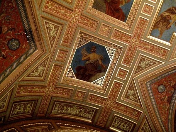 budapest opera house ceiling
