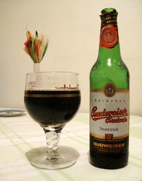 czech beer budweiser dark