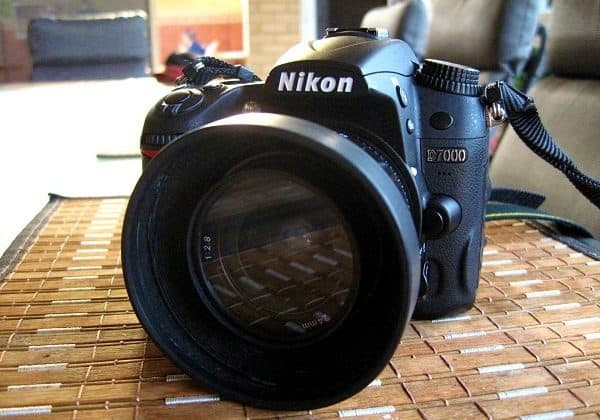 nikon D7000 with 24mm lens