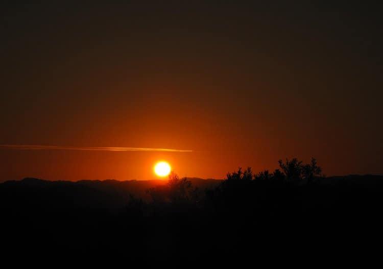 Rye victoria sunset