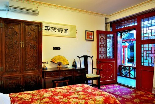 Templeside Deluxe Hutong House- Beijing