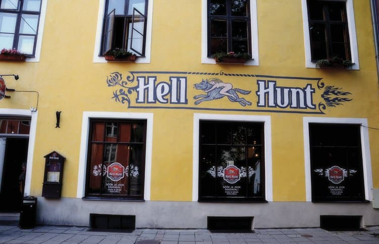 hell hunt tallinn estonia