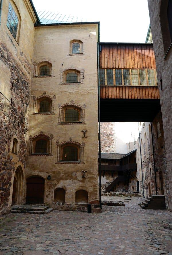turku castle courtyard