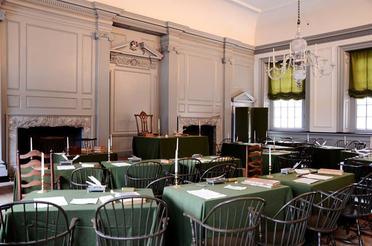 independence hall assembly room
