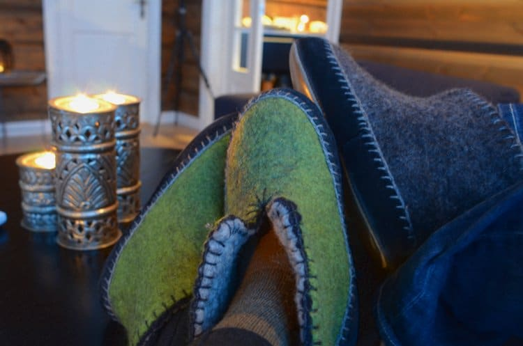 lyngen lodge slippers