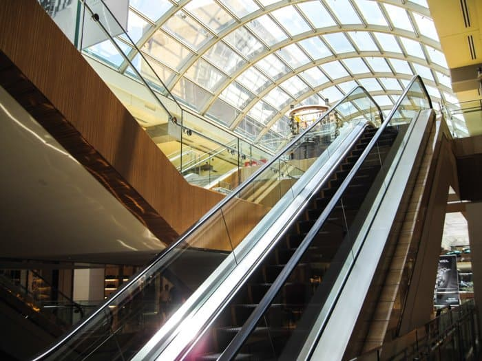 houston galleria escalator