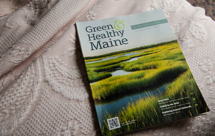 green and healthy maine