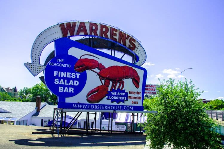 warren's lobster maine