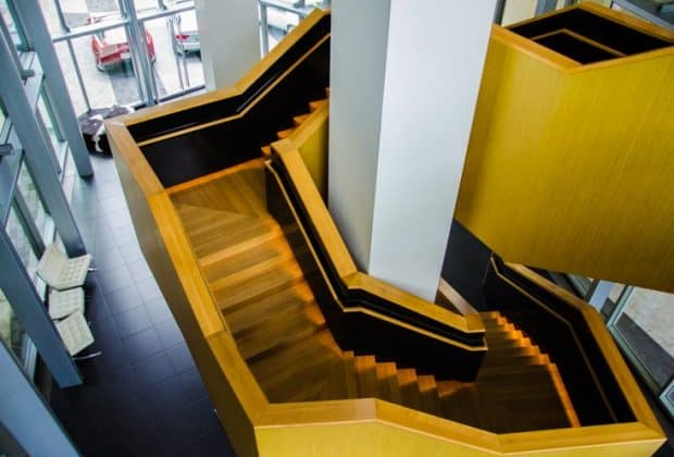 hotel sorella city centree houston staircase