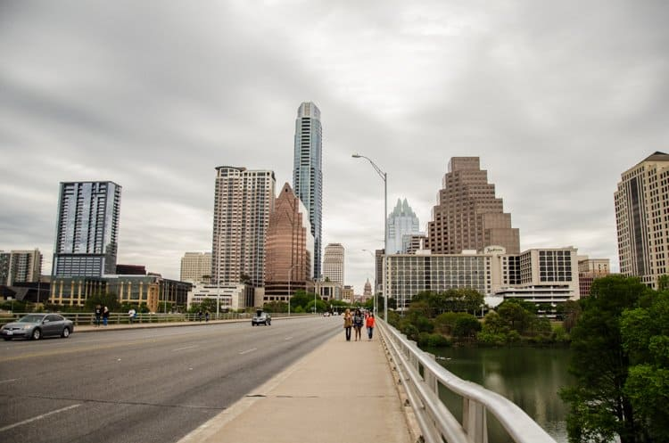 austin city from congress ave