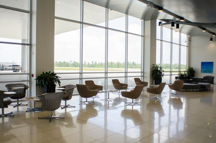galaxy FBO waiting area