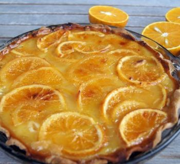 Florida Orange Pie