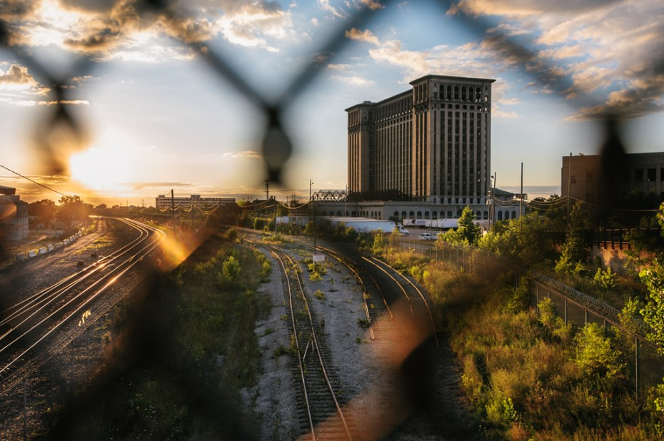 Michigan Central Station - Downtown Detroit (Photo credit: Geoff Llerena