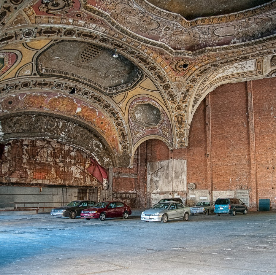 'Parking Lot' Theatre  - Michigan Theatre, Detroit