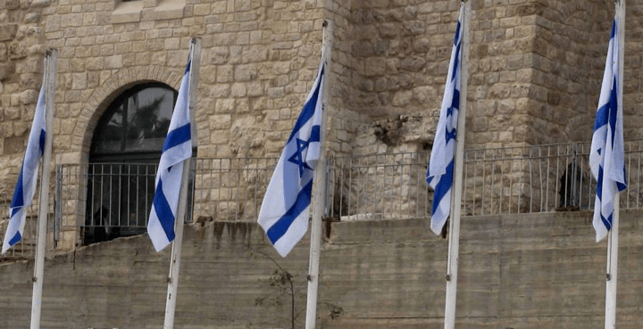 israel-flags