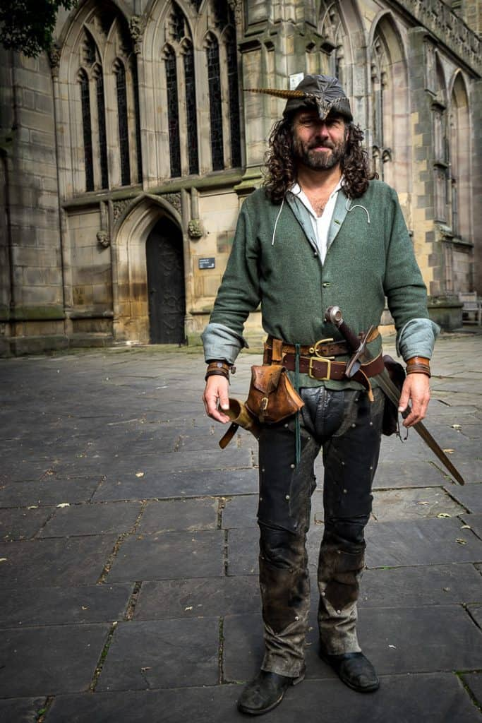 Is there a real Robin Hood? Yes, and it's this guy…