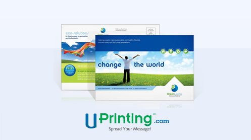 UPrinting travel postcards