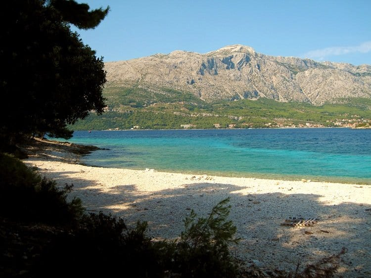 badija beach croatia