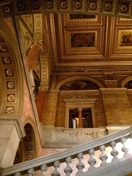budapest opera house foyer staircase