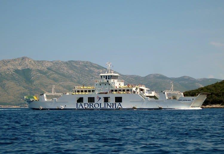 Jadrolinija ferry Croatia