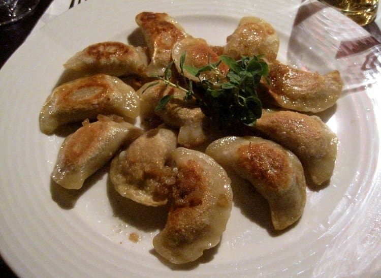 meat pierogis