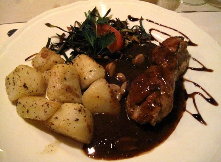Poland food pork tenderloin