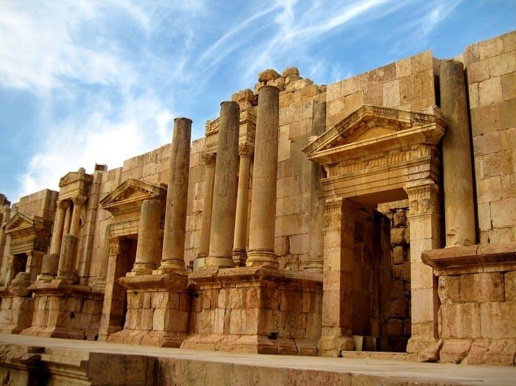 jerash jordan south amphitheatre