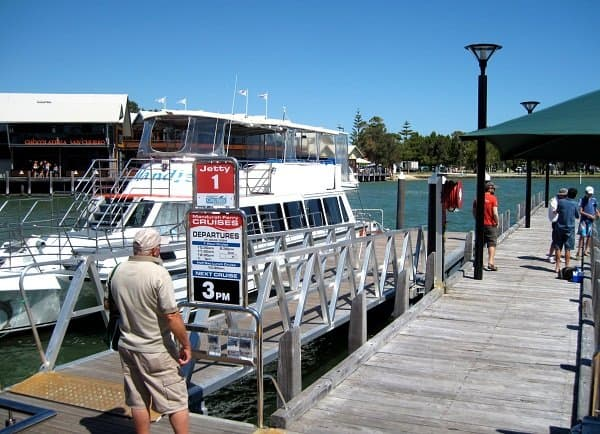 mandurah ferry cruises