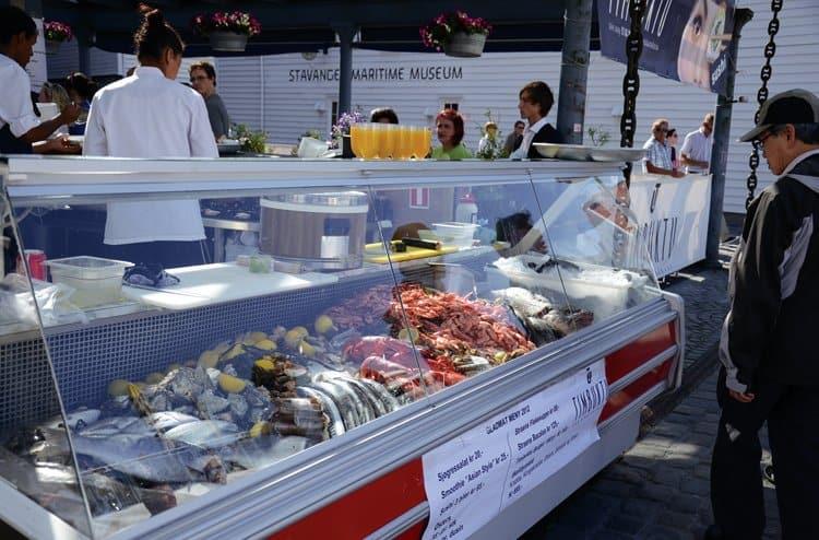 Gladmat 2012 Stavanger seafood