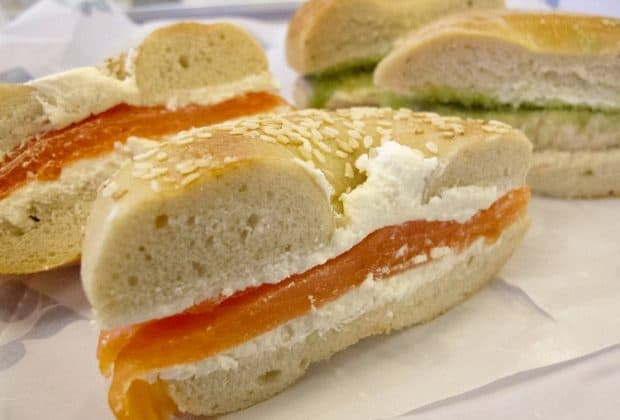 Russ and Daughters bagels
