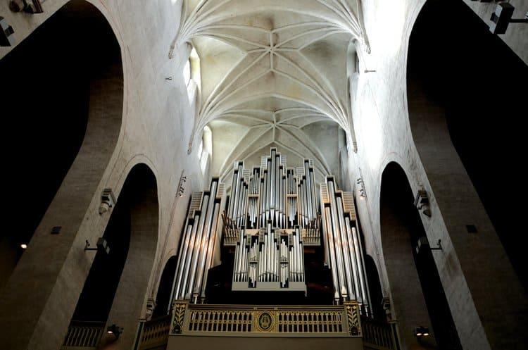 turku cathedral organ