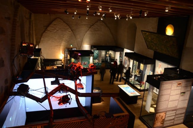 turku castle changing exhibitions