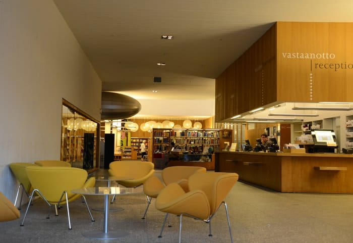 turku library reception