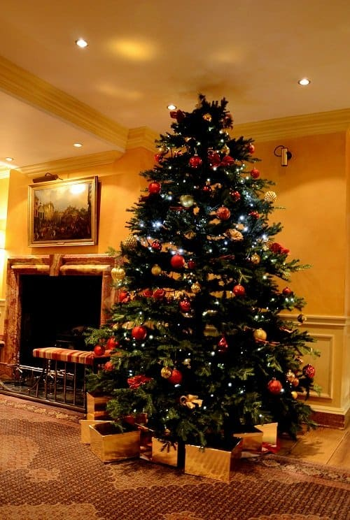 christmas tree capital hotel knightsbridge luxury