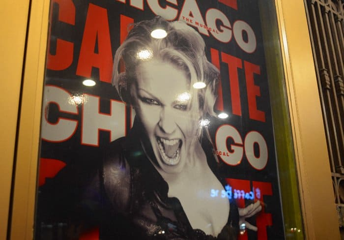 chicago poster broadway nyc