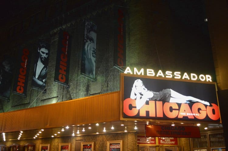 ambassador theater chicago nyc