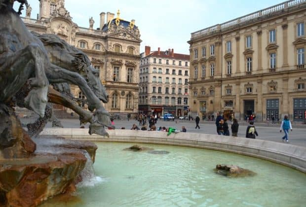fountain terreaux Lyon