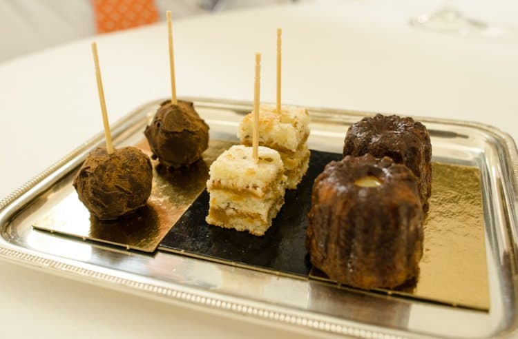 canelé cakes and sweets