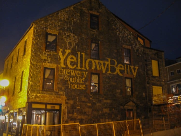 yellowbelly st johns