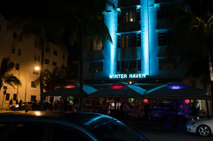 winter haven miami night