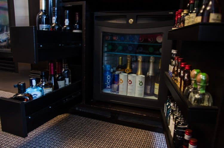 xv beacon minibar