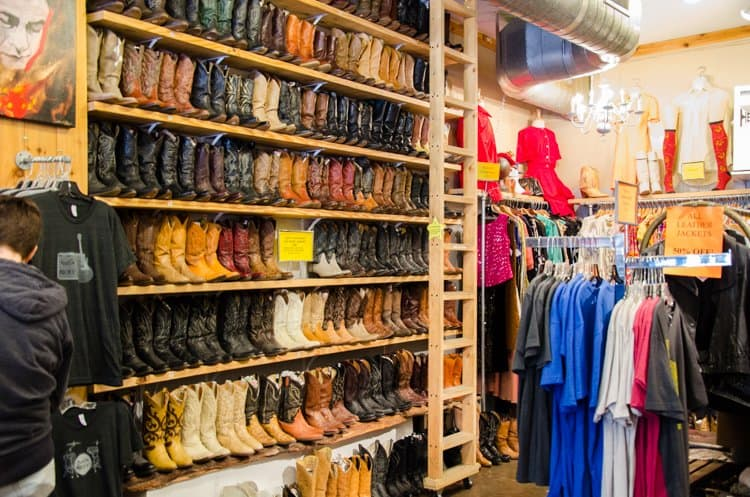 austin cowboy boots in store