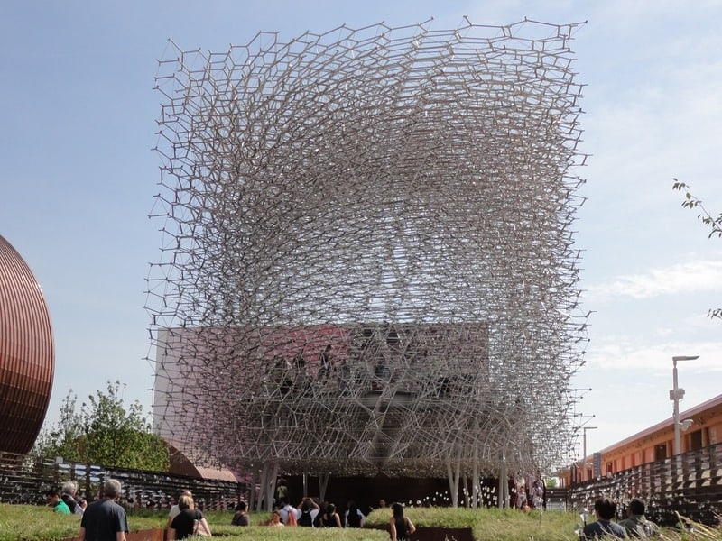 UK pavilion, Expo Milano 2015 - The Beehive