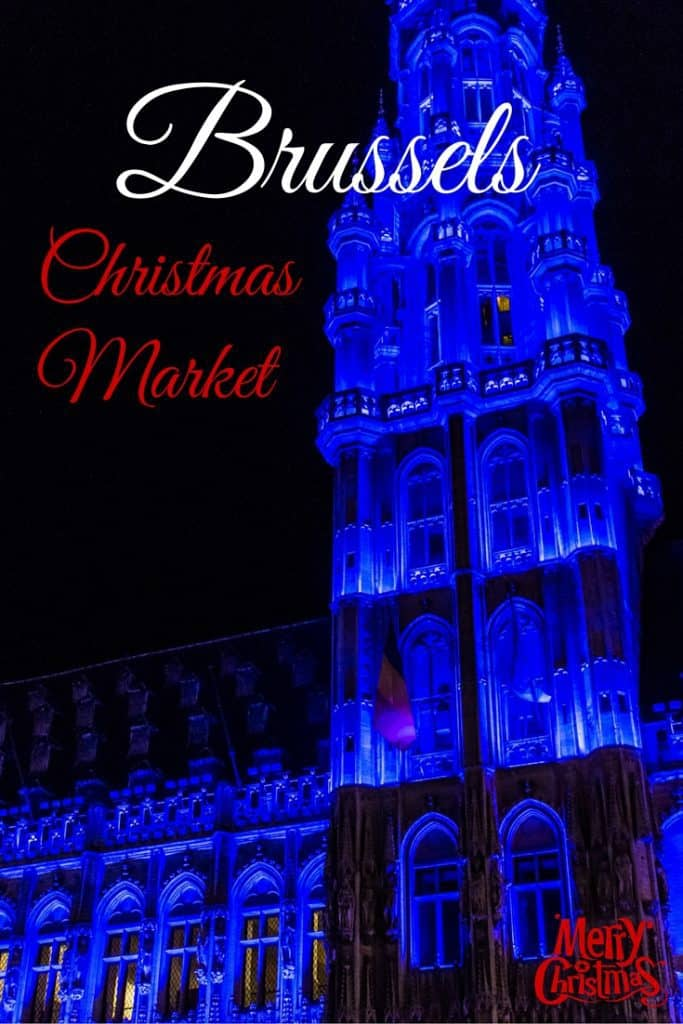 brussels christmas market grand-place