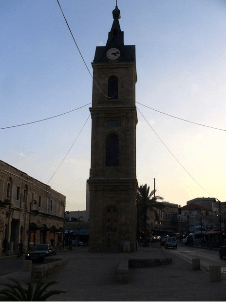 israel-jaffa-clock-tower