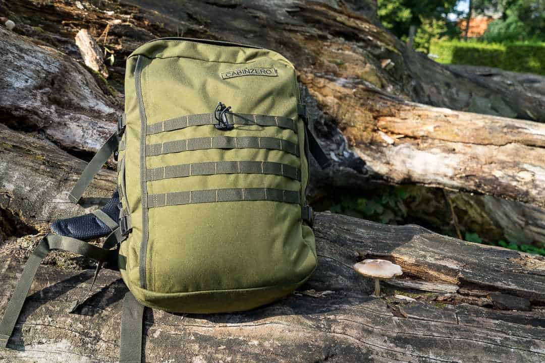 sale usa online new arrive incredible prices REVIEW: CabinZero Military 44l travel backpack ...